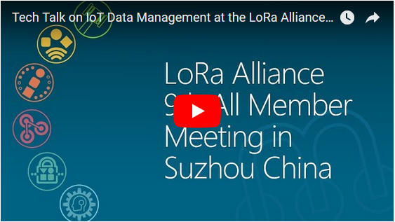 The LoRa Alliance 9th All Member Meeting in Suzhou China