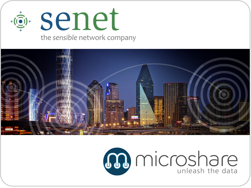 Microshare and Senet Partner