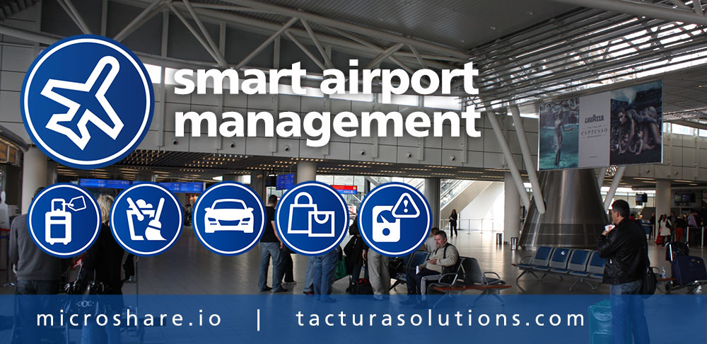 Microshare Partners with Tactura to Deliver Smart Airport and Smart City Solutions